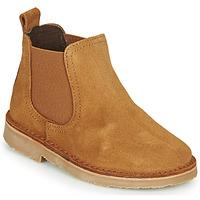 Zapatos Niños Botas de caña baja Citrouille et Compagnie HOVETTE Camel