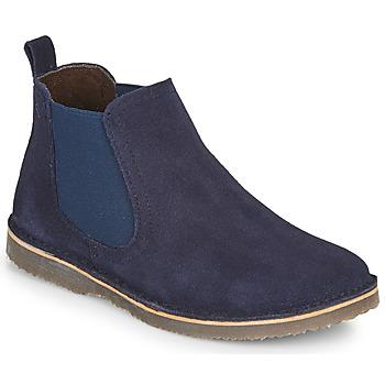 Zapatos Niño Botas de caña baja Citrouille et Compagnie HOVETTE Marino