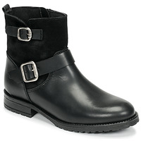 Zapatos Niña Botas de caña baja Citrouille et Compagnie NIVOLE Negro