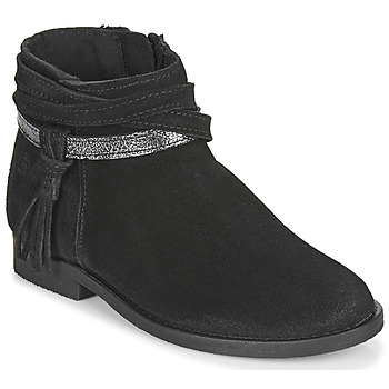 Zapatos Niña Botas de caña baja Citrouille et Compagnie NIVOLET Negro