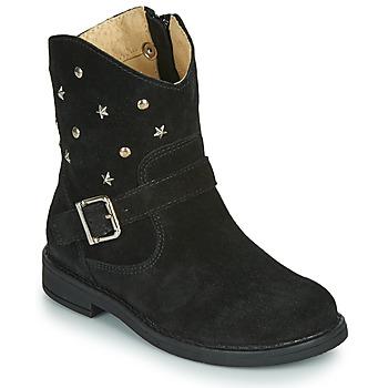 Zapatos Niña Botas de caña baja Citrouille et Compagnie NESTI Negro