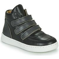 Zapatos Niño Zapatillas altas Citrouille et Compagnie NOSTI Negro / Gris