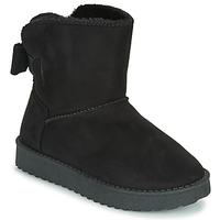 Zapatos Niña Botas de caña baja Citrouille et Compagnie  Negro