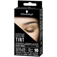 Belleza Mujer Perfiladores cejas Schwarzkopf Brow Tint Tinte Cejas 1-1-negro 1 u