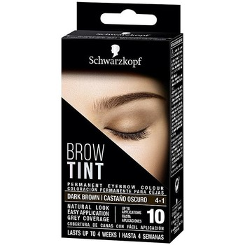 Belleza Mujer Perfiladores cejas Schwarzkopf Brow Tint Tinte Cejas 4-1-castaño Oscuro 1 u