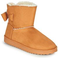 Zapatos Mujer Botas de caña baja Moony Mood NOWER Camel