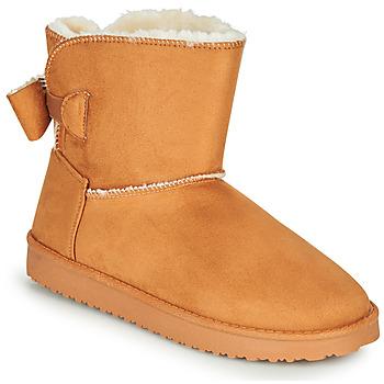 Zapatos Mujer Botas urbanas Moony Mood NOWER Camel