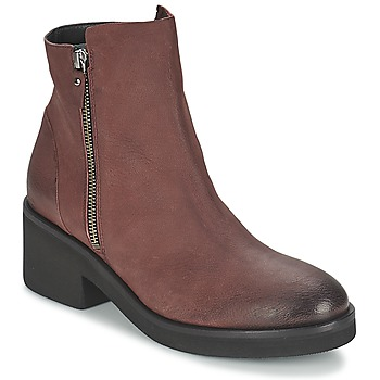 Zapatos Mujer Botas de caña baja Vic ASCILLE Burdeo