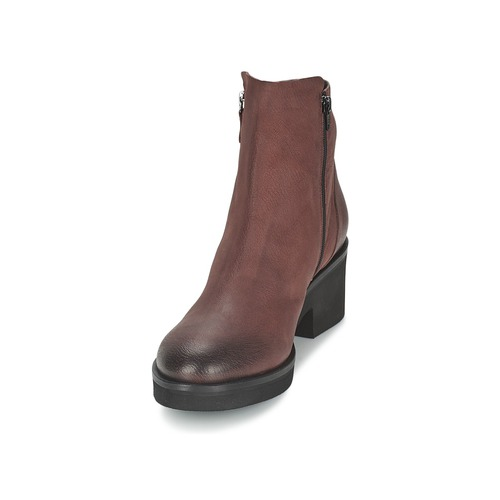 De Mujer Ascille Zapatos Caña Baja Botas Vic Burdeo CoeQWBxErd