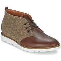Zapatos Hombre Botas de caña baja Wesc DESERT BOOT Marrón