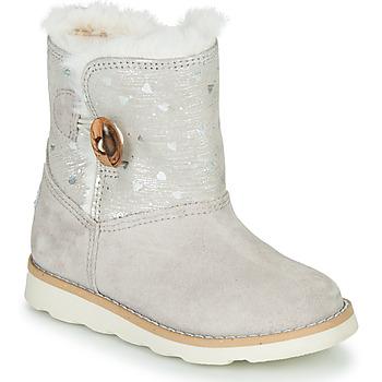 Zapatos Niña Botas de caña baja Pablosky 491506 Gris