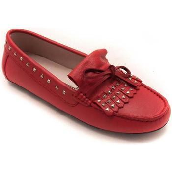 Zapatos Mujer Mocasín Soler & Pastor 283-A02 Rojo