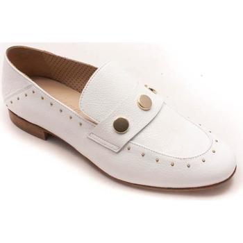 Zapatos Mujer Mocasín Calce 612 Blanco