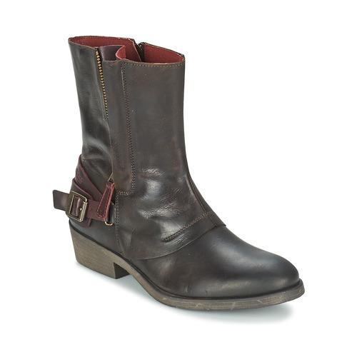 Kickers AMERIKO Marrón - Envío gratis Nueva promoción - baja Zapatos Botas de caña baja - Mujer 127,20 8e1940