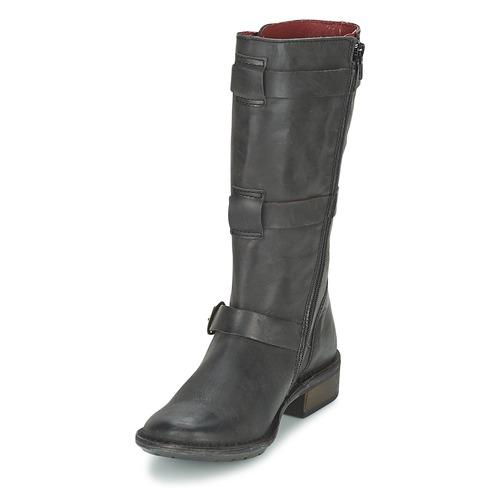Negro Growup Botas Zapatos Mujer Urbanas Kickers wOP8n0k