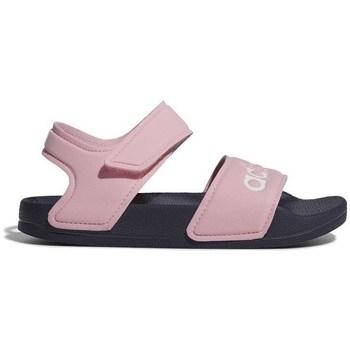Zapatos Niña Sandalias adidas Originals Adilette Sandal Rosa