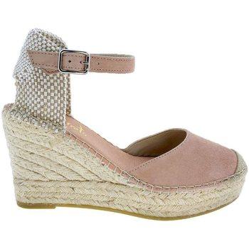 Zapatos Mujer Alpargatas Vidorreta Cuña  11600 Maquillaje Rosa