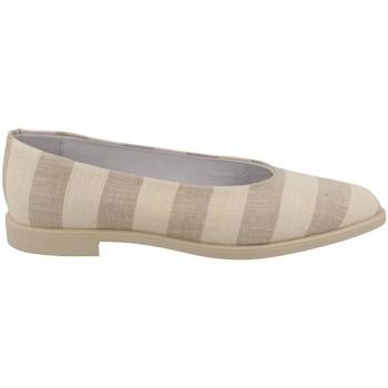 Zapatos Mujer Bailarinas-manoletinas Hobby 906 Beige