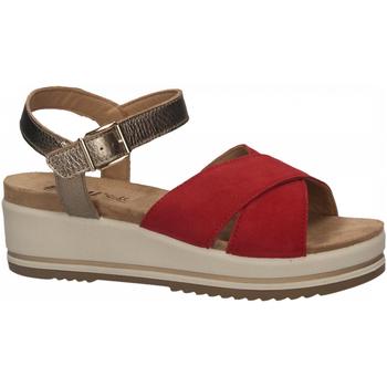Zapatos Mujer Sandalias Enval D SN 52934 rosso
