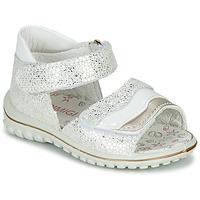 Zapatos Niña Sandalias Primigi  Blanco / Plata