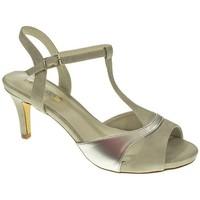 Zapatos Mujer Sandalias D'angela DMS17567 Plata