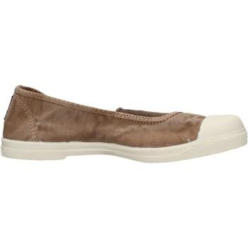 Zapatos Mujer Deportivas Moda Natural World - Slip on beige 103E-621 BEIGE