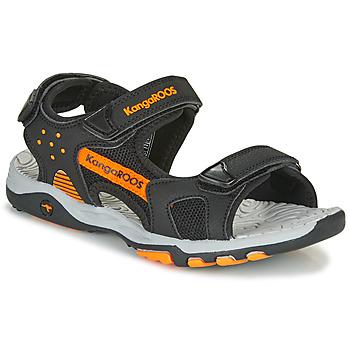 Zapatos Niño Sandalias de deporte Kangaroos K-Celtic Negro / Naranja