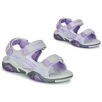 Zapatos Niños Sandalias de deporte Kangaroos Sandalshine Gris / Violeta