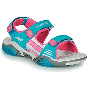 Zapatos Niños Sandalias de deporte Kangaroos Sandalshine Azul / Rosa