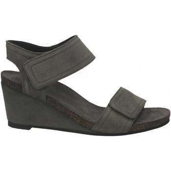 Zapatos Mujer Sandalias Ca Shott SUEDE grigio-chiaro