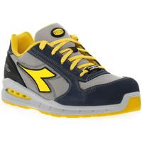 Zapatos Hombre zapatos de seguridad  Diadora UTILITY RUN NET AIRBOX LOW Blu