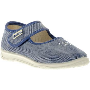 Zapatos Niña Bailarinas-manoletinas Emanuela JEANS SANDALO Blu
