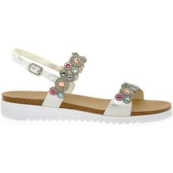 Zapatos Mujer Zuecos (Mules) Grunland MULTICOLOR 70DOCE Multicolore