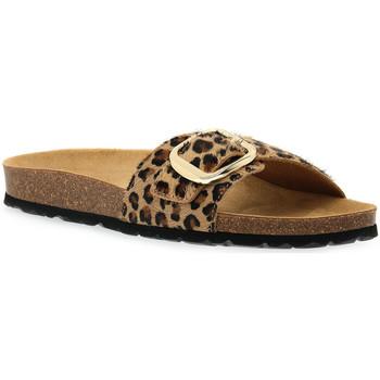 Zapatos Mujer Zuecos (Mules) Grunland BEIGE 40SARA Beige