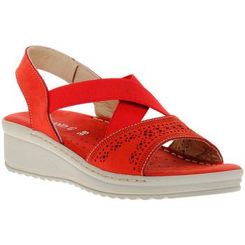 Zapatos Mujer Sandalias Grunland ROSSO 10LALL Rosso