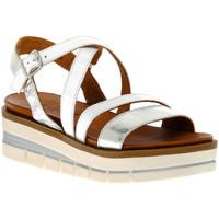 Zapatos Mujer Sandalias Grunland BIANCO I8FAMA Bianco