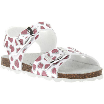 Zapatos Niña Sandalias Grunland BIANCO 40ARIA Bianco