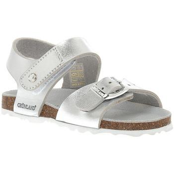 Zapatos Niña Sandalias Grunland ARGENTO 40ARIA Grigio