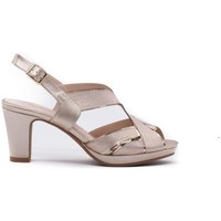 Zapatos Mujer Sandalias Prestigio C-238 Beige