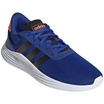 Zapatos Niño Running / trail adidas Originals Lite Racer Blanco, Azul, De color naranja
