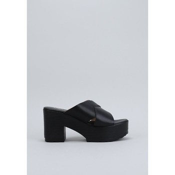 Zapatos Mujer Zuecos (Mules) Krack LIMP Negro