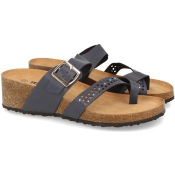 Zapatos Mujer Zuecos (Mules) Tony.p BQ01 Azul