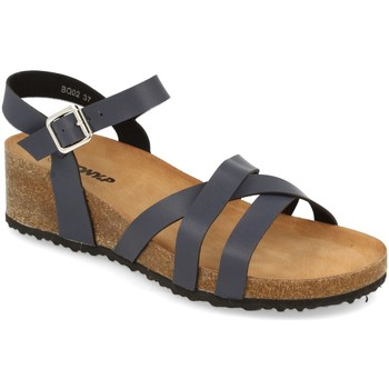 Zapatos Mujer Sandalias Tony.p BQ02 Azul