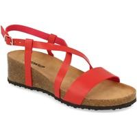 Zapatos Mujer Sandalias Tony.p BQ03 Rojo
