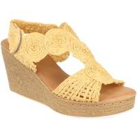 Zapatos Mujer Sandalias Tony.p BQ12 Beige