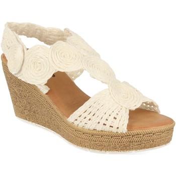 Zapatos Mujer Sandalias Tony.p BQ12 Blanco