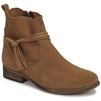 Zapatos Mujer Botas de caña baja Betty London NENESS Camel