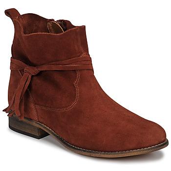 Zapatos Mujer Botas de caña baja Betty London NENESS Ladrillo