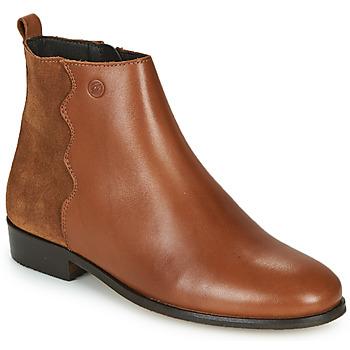 Zapatos Mujer Botas de caña baja Betty London HELOI Camel
