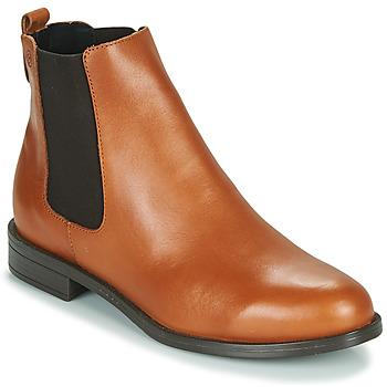 Zapatos Mujer Botas de caña baja Betty London NIDOLE Camel